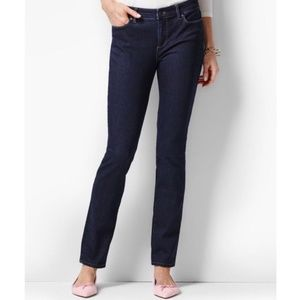 Talbots Petite Flawless 5-Pocket Slim Ankle Jean